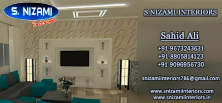 S Nizami Interior Best POP Contractor