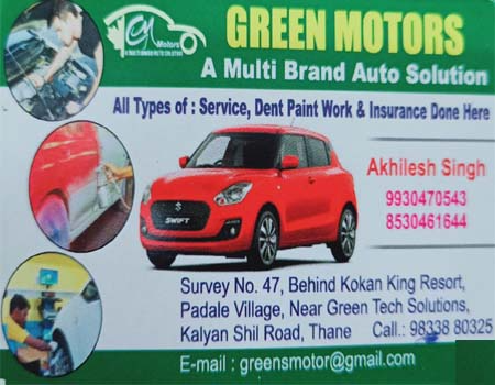 Green Motors Kalyan shil Road
