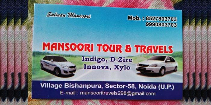 Mansoori Tour and Travels